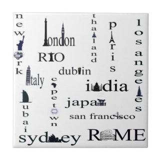 world city tile