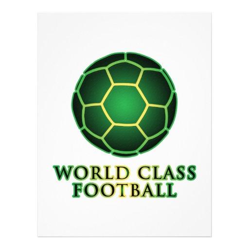 World Class Football Custom Flyer