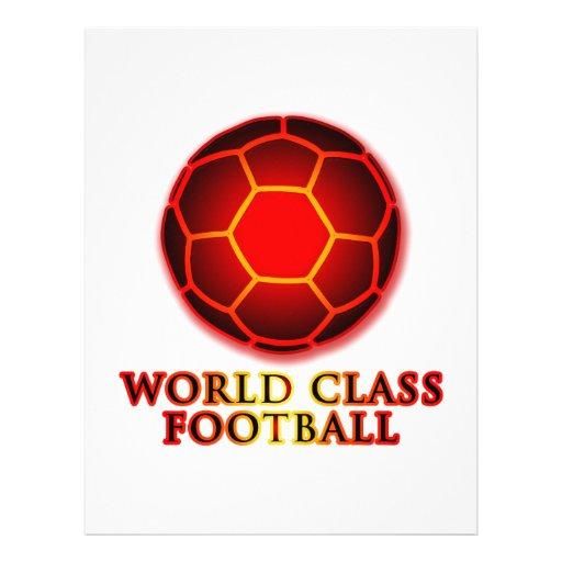 World Class Football Flyer