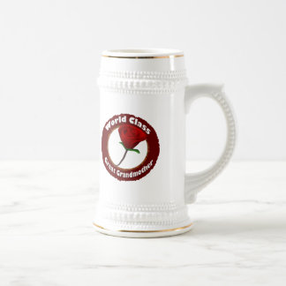 World Class Great Grandmother Mothers Day Gifts Beer Stein