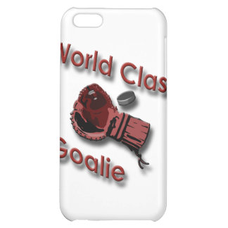 World Class Hockey Goalie Glove red Case For iPhone 5C