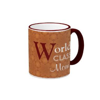 World Class Mom Love You Orange Red W1655 Coffee Mug