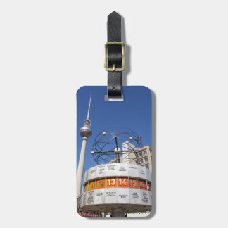 World Clock and Television Tower, Alexanderplatz, Bag Tag