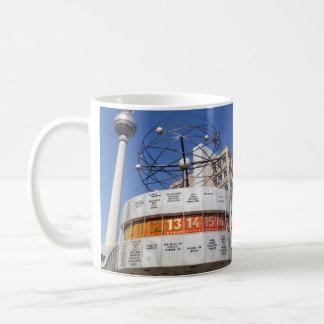 World Clock and Television Tower, Alexanderplatz, Coffee Mug