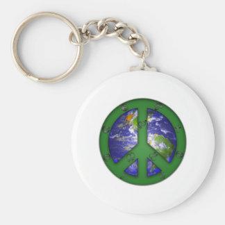 World Coexist Key Ring
