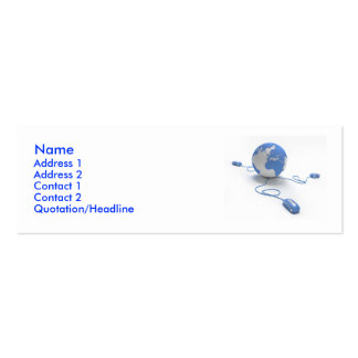 World Connection Business Cards