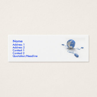 World Connection Mini Business Card