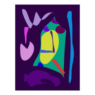 World Contemporary Art Season Winter Color 101 Poster
