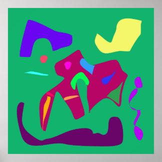World Contemporary Art Season Winter Color 11 Posters