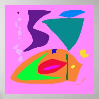 World Contemporary Art Season Winter Color 13 Posters