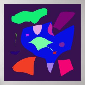 World Contemporary Art Season Winter Color 22 Posters