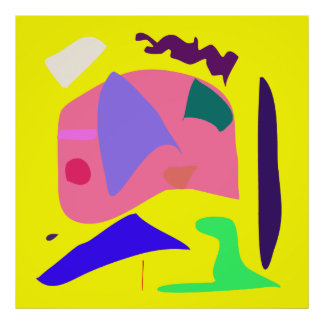 World Contemporary Art Season Winter Color 23 Poster