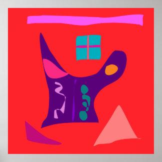 World Contemporary Art Season Winter Color 29 Poster
