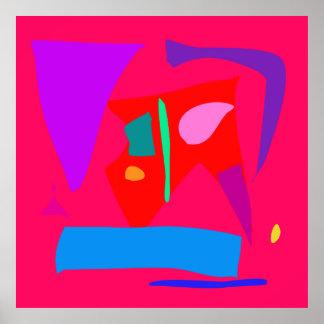 World Contemporary Art Season Winter Color 32 Posters