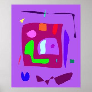 World Contemporary Art Season Winter Color 39 Posters
