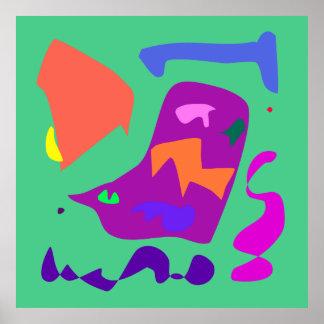 World Contemporary Art Season Winter Color 3 Print