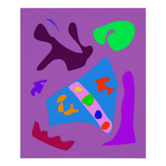 World Contemporary Art Season Winter Color 42 Poster