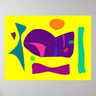 World Contemporary Art Season Winter Color 49 Poster