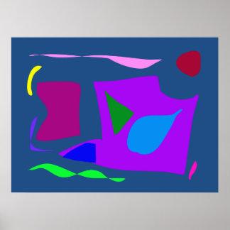 World Contemporary Art Season Winter Color 51 Poster