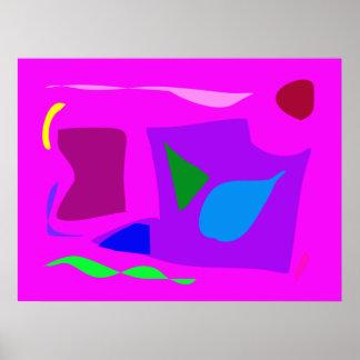 World Contemporary Art Season Winter Color 52 Posters
