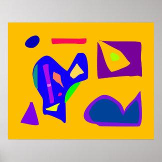 World Contemporary Art Season Winter Color 56 Poster
