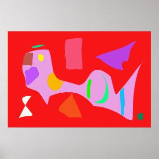 World Contemporary Art Season Winter Color 63 Poster