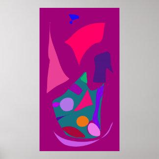 World Contemporary Art Season Winter Color 83 Posters