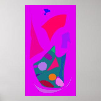 World Contemporary Art Season Winter Color 84 Print