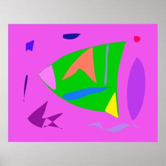 World Contemporary Art Season Winter Color 93 Poster