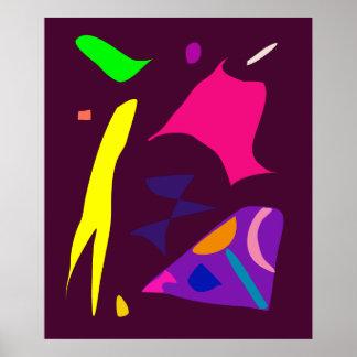 World Contemporary Art Season Winter Color 96 Posters