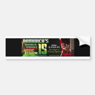 World Creole Music Festival bumper sticker 2011