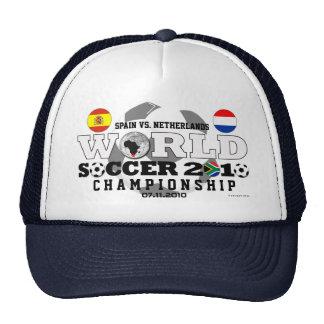 World Cup 2010 Finals Spain Neterlands Hat