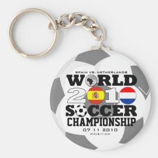 World Cup 2010 Finals Spain Netherlands Keychain