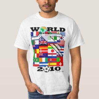 World Cup 2010 Globe Football T-Shirt