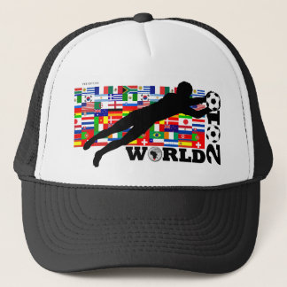 World Cup 2010 Goal Flags Hat