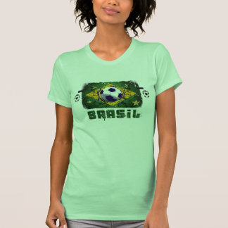 World cup Brazil 2014 world champions flag Tee Shirts