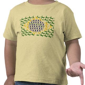 World cup Brazil 2014 world champions flag Tshirts