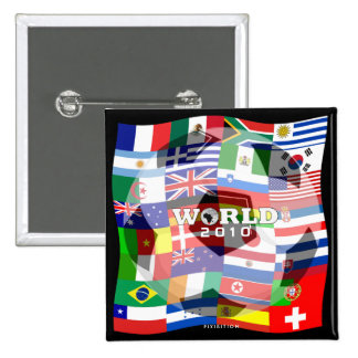 World Cup Flags Group Player Button 3