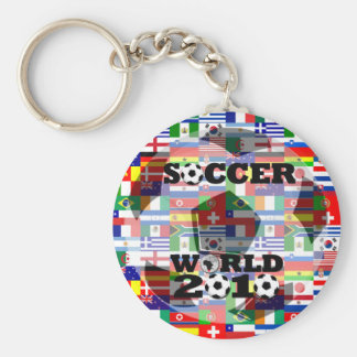 World Cup Soccer 2010 Keychain