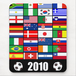 World Cup Soccer 2010 Mousepad