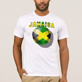 World Cup Soccer Jamaica Reggae Boyz sports fans T-Shirt