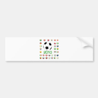 World Cup T-Shirts 2010 South Africa Bumper Sticker