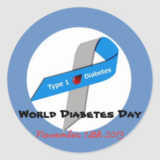 World Diabetes Day Stickers
