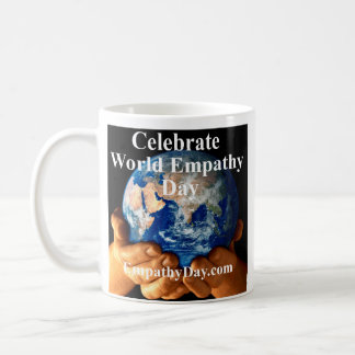 """World Empathy Day"" Mug - Right Handed"