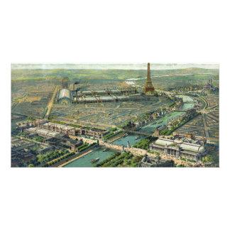 World Expo 1900 Paris France Customized Photo Card