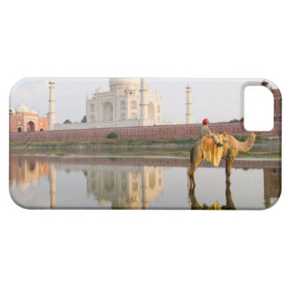 World famous Taj Mahal temple burial site at iPhone 5 Case