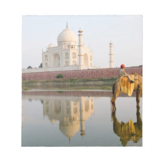 World famous Taj Mahal temple burial site at Notepad