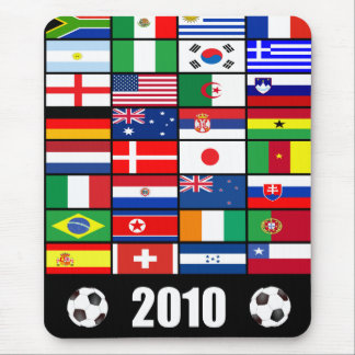 World Flags 2010 Mouse Pad