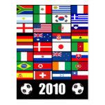 World Flags 2010 Post Cards