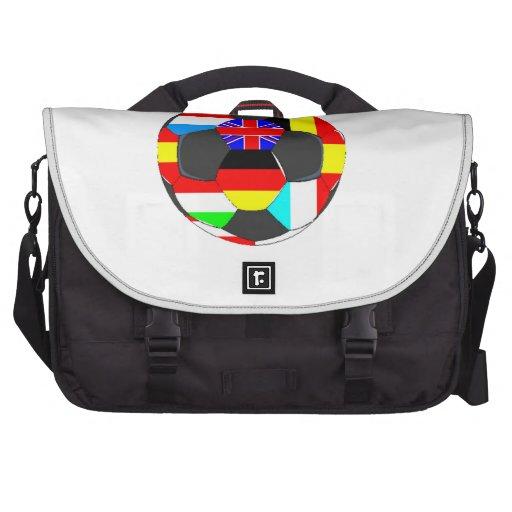 World Flags Soccer Ball Commuter Bags